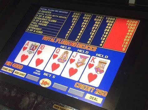 5 conseils pour gagner au vidéo poker