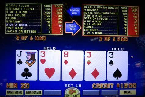 Comment connaitre le taux de redistribution d'un vidéo poker